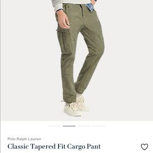 Polo by Ralph Lauren straight fit cargo pants